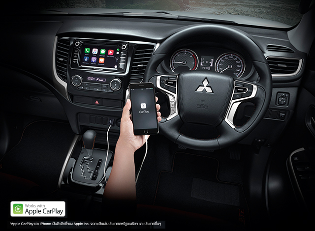 triton athlete apple carplay